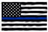 Thin Blue Line American Flag