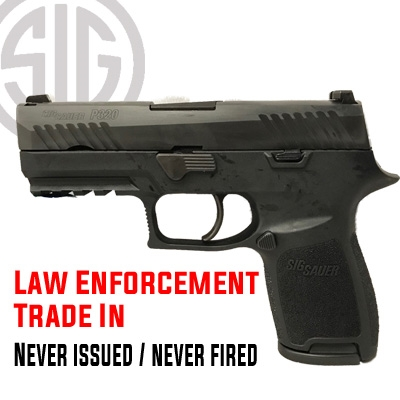 Sig Sauer Police Trade-In P320