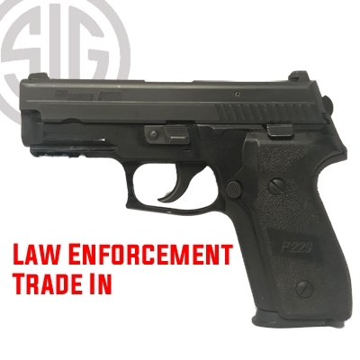 Sig Sauer Police Trade-In P229 Fair Condition