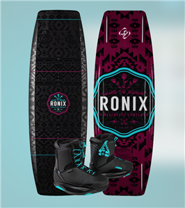 2020 Ronix Quarter 'Til Midnight w/ Signature Wakeboard Package