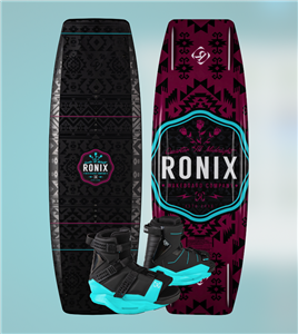 2020 Ronix Quarter 'Til Midnight w/ Halo Wakeboard Package