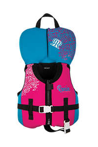 Ronix August Girl's - CGA Life Vest Infant/Toddler (Up to 30lbs) 2019