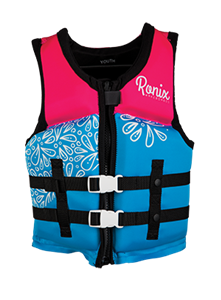 Ronix August Girl's - CGA Life Vest Youth (50-90lbs) 2019