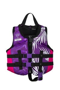 TRA Girl's - CGA Life Vest - Vibrant Mesh / Black - Youth (50-90lbs)