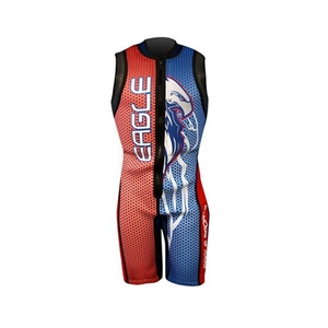 Eagle Bird of Prey USA Barefoot Suit