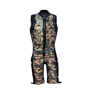 Eagle Army Camo Barefoot Water Ski Wetsuit