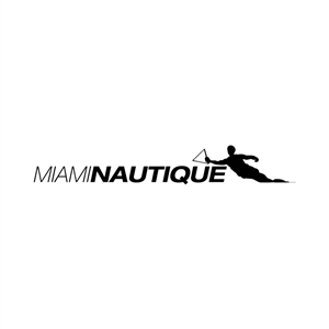 Miami Nautique Men's Water Ski Sticker