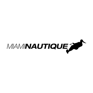 Miami Nautique Women's Water Ski Sticker