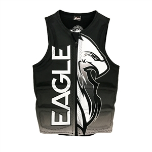 Eagle Bird Of Prey Mens Vest - Black