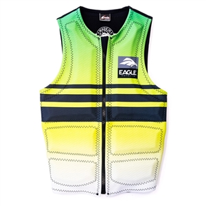 Eagle Multi Stripe Vest - Green