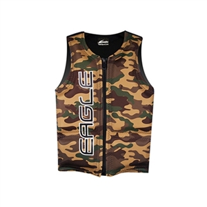 Eagle Junior Camo Ski Life Vest