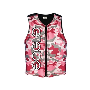 Eagle Junior Girl's Camo Ski Life Vest