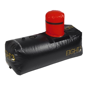 Eight.3 Telescoping Trapezoid Ballast Bag - CTN 400lbs (Black/Gold)
