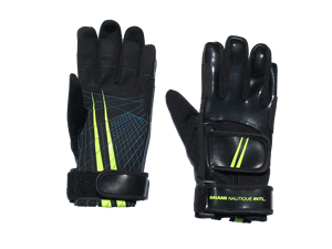 Miami Nautique Water Ski Thin Gloves Leather (V2)