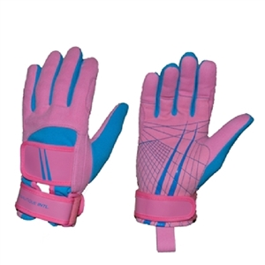 Miami Nautique Water Ski Thin Gloves in Pink and Blue(v 2)