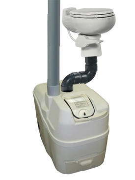 Centrex 1000 NE medium capacity central system composting toilet by Sun-Mar
