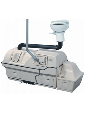 Centrex 3000 extra high capacity central system composting toilet by Sun-Mar