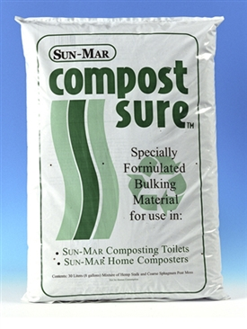Compost Sure for Sun-Mar Composting Toilets