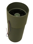 12 Volt 2.4 Watt DC fan assembly for Sun-Mar Composting Toilets