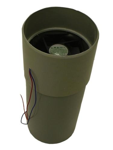Composting Toilet 2 4 Watt 12v Dc Fan Assembly Sun Mar