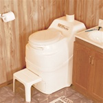 Excel NE self contained composting toilet by Sun-Mar