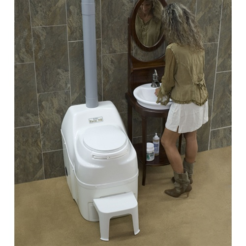 Sun-Mar Excel NE | Non Electric Waterless Composting Toilet