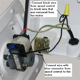 composting toilet fan speed control for Sun-Mar composting toilets