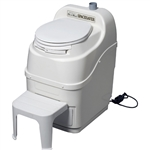 Spacesaver self contained composting toilet by Sun-Mar