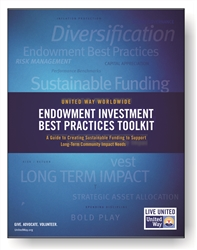 "<span style=""font-weight: bold;""><br><br>0296   United Way Worldwide Endowment Investment Best Practices Toolkit</span>  <br><ul>"