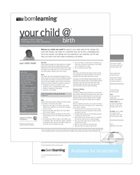 "<span style=""font-weight: bold;""><br><br>30300   Born Learning Ages & Stages - Birth </span>  <br><ul>"