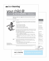 "<span style=""font-weight: bold;""><br><br>30302   Born Learning Ages & Stages - 4 to 6 Months </span>  <br><ul>"