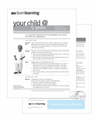 "<span style=""font-weight: bold;""><br><br>30310   Born Learning Ages & Stages - 5 Years </span>  <br><ul>"