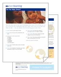 "<span style=""font-weight: bold;""><br><br>30330   Born Learning  Parent Tools - Are you Baby Smart? </span>  <br><ul>"