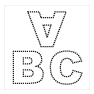 "<span style=""font-weight: bold;""><br><br>60422   ABC Stencil</span>  <br><ul>"