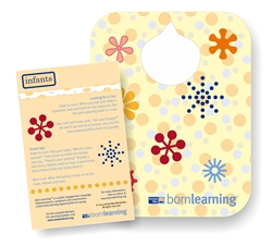 "<span style=""font-weight: bold;""><br><br>60844   Born Learning Bib</span>  <br><ul>"