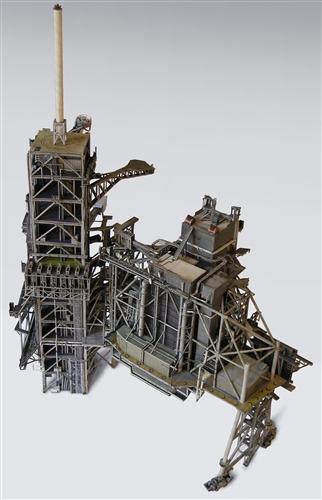 1:144 Space Shuttle Launch Complex 39A Heavy Paper Model ...