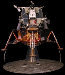 "Lunar Module, Apollo 11 LM-5 Model Craft Kit in 1:32 Scale for Revell Command Service Module CSM.  ""A beautiful thing to see across the room..."""