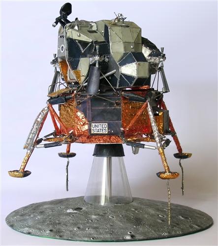 Apollo Lunar Module Model Kit (page 4) - Pics about space