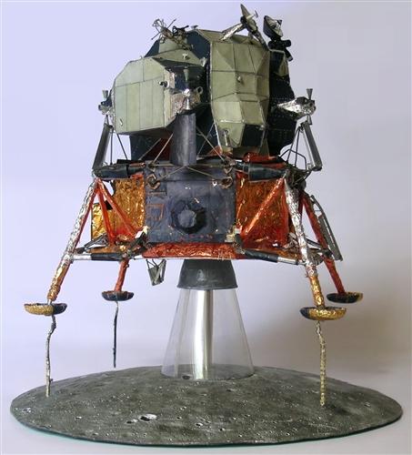 Apollo Lunar Lander Paper Model - Pics about space