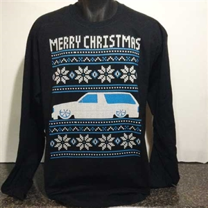 Ugly Christmas Sweater Design.S10 1st Gen Blazer Ugly Christmas Sweater Design 2