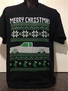 Ugly Christmas Sweater Design.S10 1st Gen Ext Cab Ugly Christmas Sweater Design 2