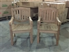 Manchester Teak Arm Chair - 2-packs