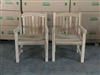 Seroja Teak Arm Chair - 2-packs