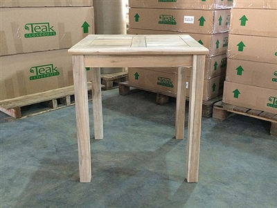 Tomo Teak Square Bistro Table 70cm/28""