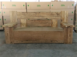 "240cm/95"" Buto Recycled Teak Bench #002"
