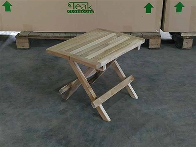 Teak Lounger Table - Tiki