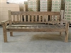 "200cm/79"" Mutt Recycled Teak Bench #0031"