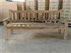 "199cm/78"" Mutt Recycled Teak Bench #0032"