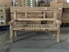 "172cm/68"" Mutt Recycled Teak Bench #0042"