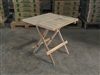 Fair teak side table square
